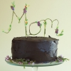 Floral Mom Cake Topper