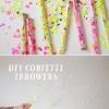 DIY Confetti Throwers