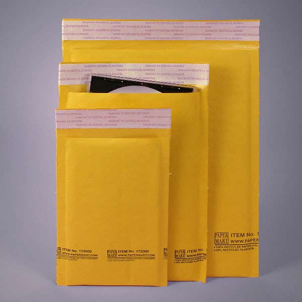 using bubble mailers to ship fragile items