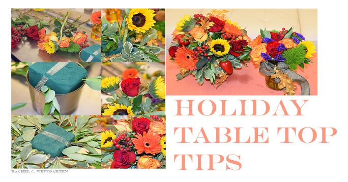 Parade Mag, Holiday Table Tips
