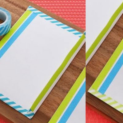 Washi Tape Stationary