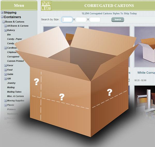 Paper Mart - Box Finder