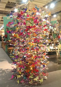 Butterfly Display at Trade Show