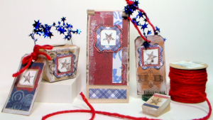Americana Party Decorations from The Frugal Crafter