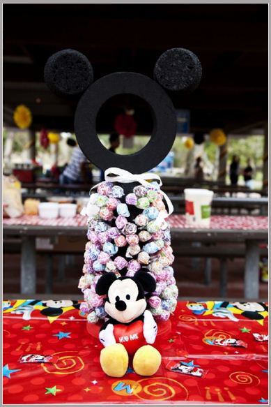 Mickey Mouse Lollipop Holder