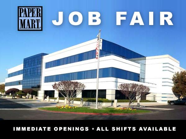 Paper Mart Job Fair July 2016