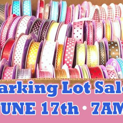 Paper Mart 2016 Parking Lot Sale