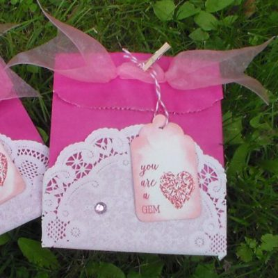 Pink Day Treat Bag