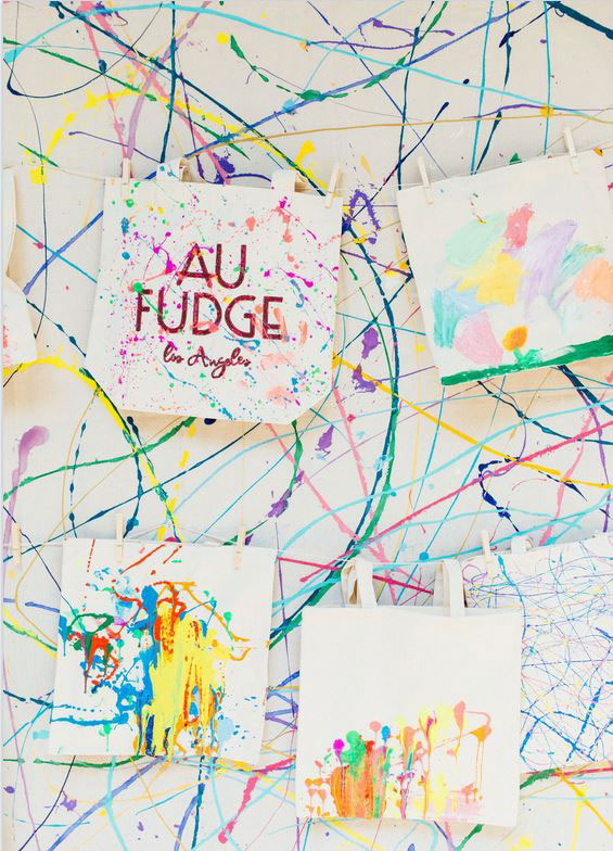 Paper Mart Sponsors Etsy Craft Day at Au Fudge