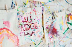 Paper Mart Sponsors Etsy Craft Day at Au Fudge