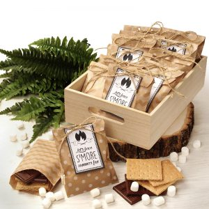 S'Mores Favor Bags