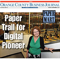 Paper Mart Featured in Orange County Business Journal