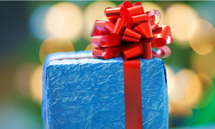 Christmas Present Ribbon
