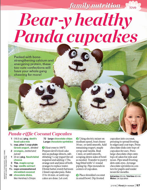 Paper Mart Cupcake Wraps Featured in First for Women February Edition