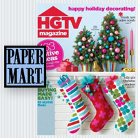 Paper Mart Featured in HGTV