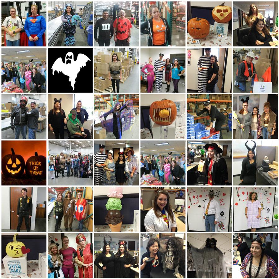 Halloween 2016 at Paper Mart