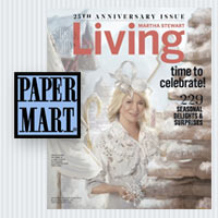 Paper Mart in Martha Stewart Living
