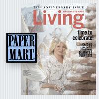 Paper Mart in Martha Stewart Living