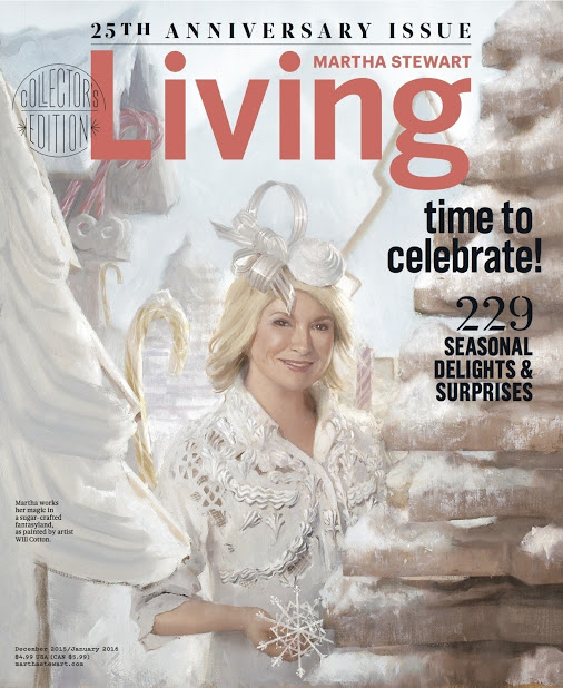 Paper Mart Featured in Martha Steward Living 25th Anniversary Edition