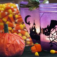 Pumpkin Paper & Glowing Jars