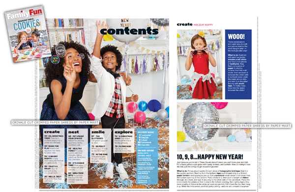 Paper Mart Featured in Family Fun Magazine
