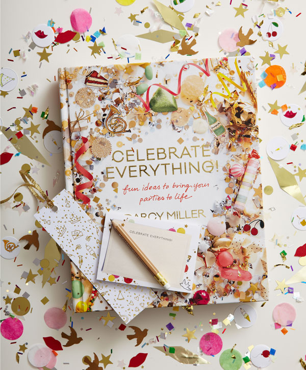 Paper Mart featured in Darcy Miller's Book Celebrate Everything!