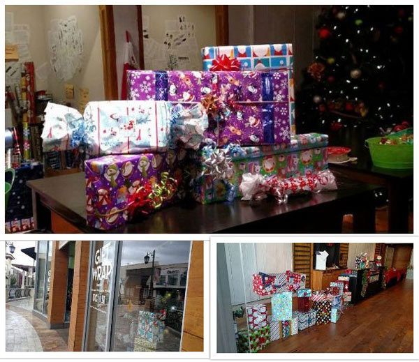 Paper Mart Sponsors UCAAN Holiday Gift Wrap Event at Oaks Mall
