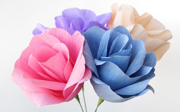 Video crepe paper flowers diy tutorial papermart crepe paper flowers mightylinksfo