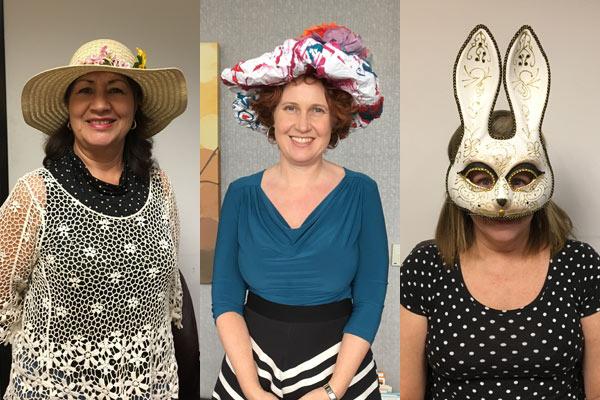 DIY bonnet contestants