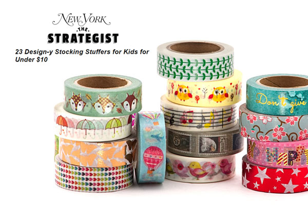 Washi Tape Featured In Ny Magazine S The Strategist