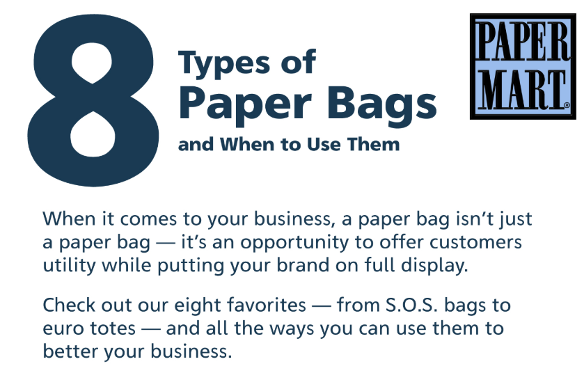 8 Types of Paper Bags and When to Use Them