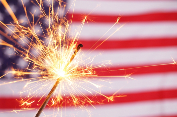 Ideas for a Patriotic Fourth of July Store Display