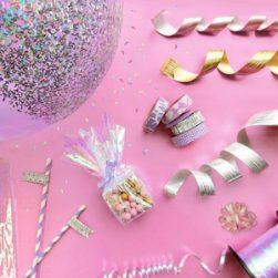 iridescent party