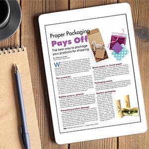 handmade business magazine and paper mart
