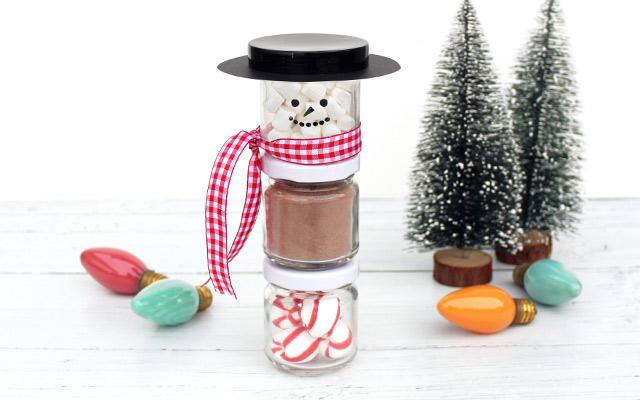 DIY hot chocolate gift