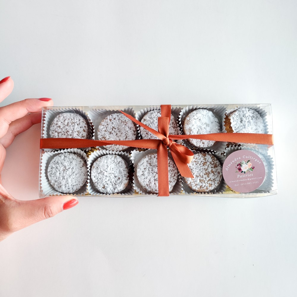 bonbons by Sweet Almond Pastries in clear Paper Mart packaging
