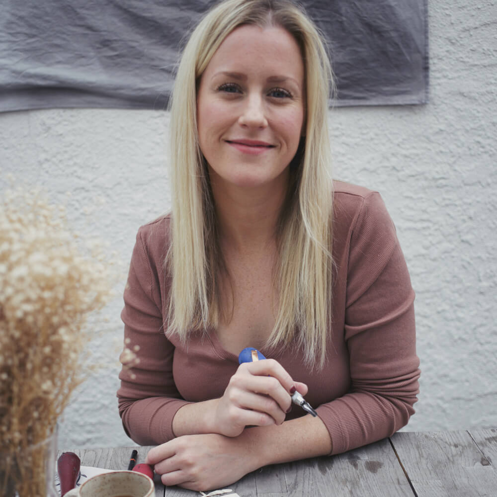 Owner and founder of Brown Pigeon, Meagan Lewis
