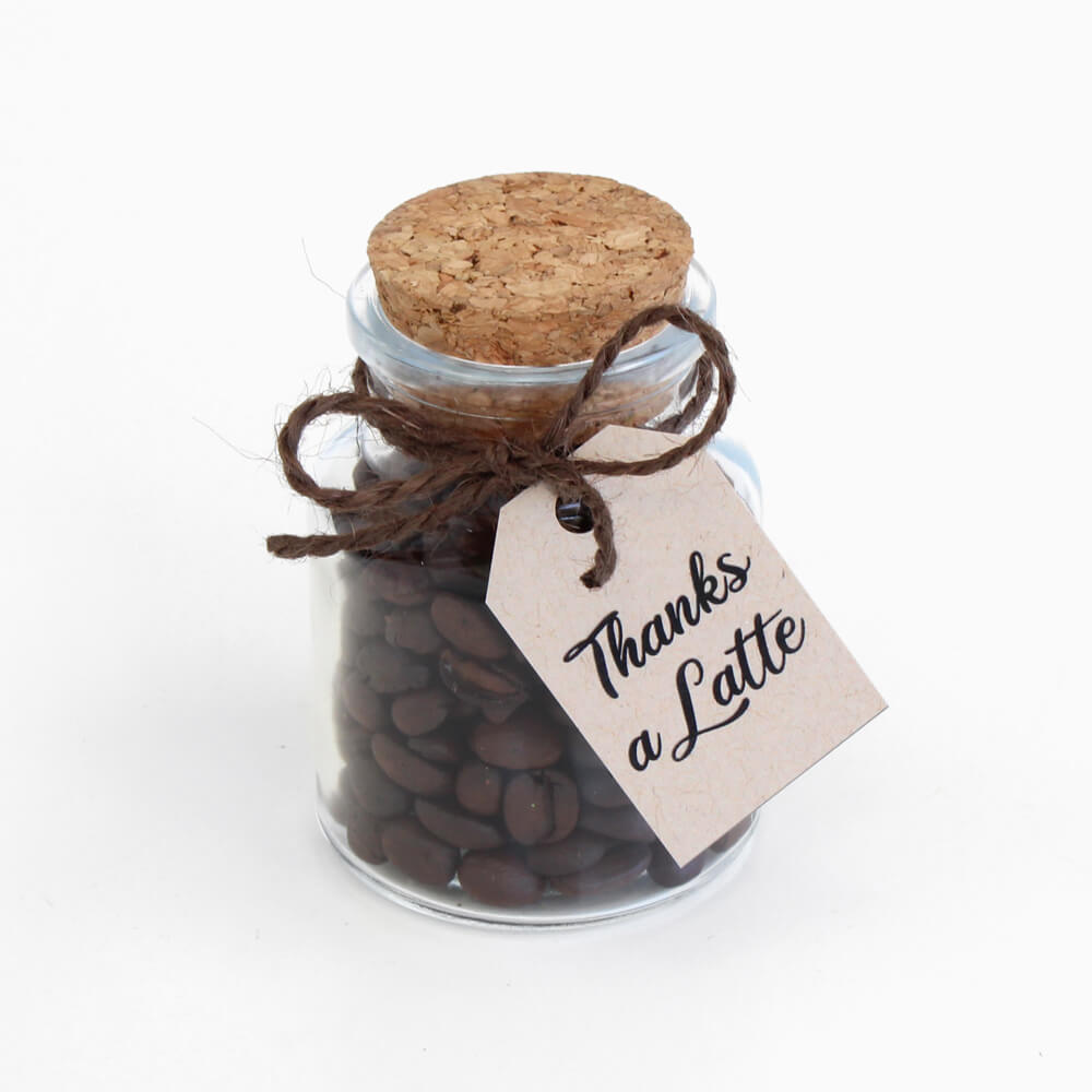 small coffee favor gift
