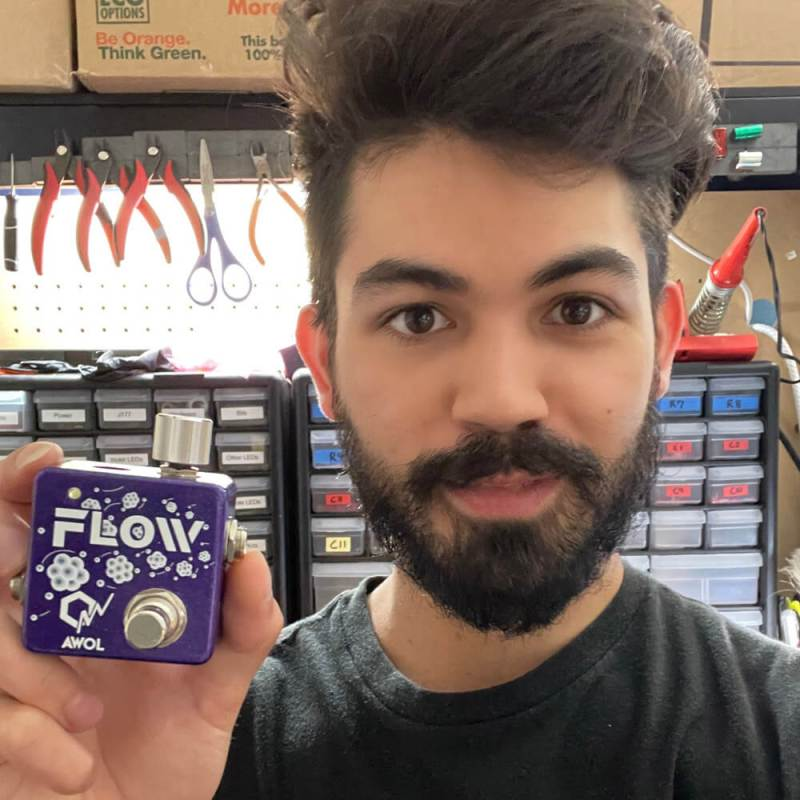Aaron Wahl of AWOL Pedals